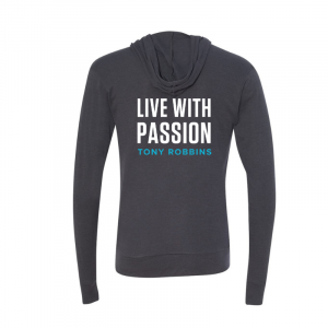 Live With Passion Zip Hoodie