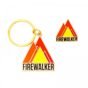 Firewalker Pin & Keychain Set