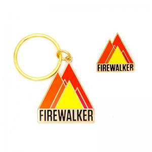 Firewalker Pin & Keychain Set