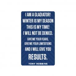 Gladiator Incantation Card Set