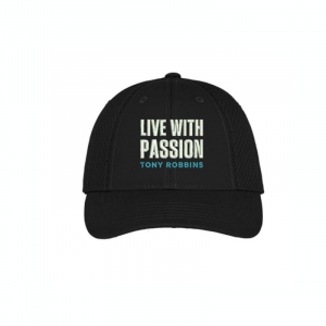 Live With Passion Cap