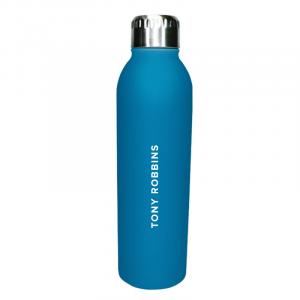 Where Focus Goes Water Bottle Back